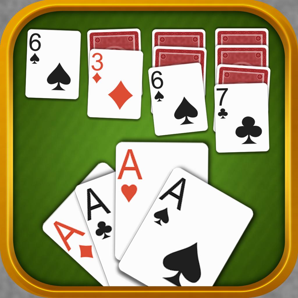 经典单机游戏扑克牌接龙玩法规则 - 麻将图片大全